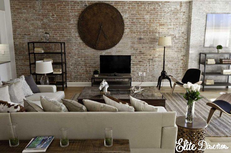 No renuncies al ladrillo visto por instalación o limpieza. Descubre nuestra serie Luxury wood and pattern.