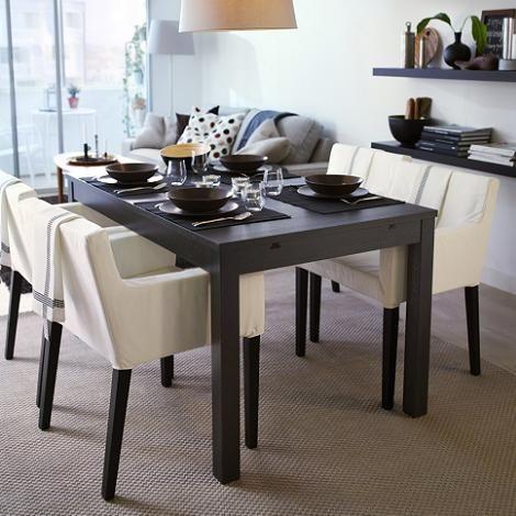 die besten 25 ikea esstisch ausziehbar ideen auf pinterest wand esstisch skandinavische. Black Bedroom Furniture Sets. Home Design Ideas