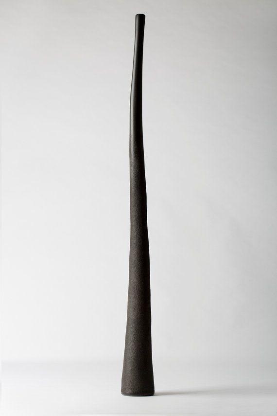 Black Hemp Didgeridoo in Key of E by SoundOfHemp on Etsy