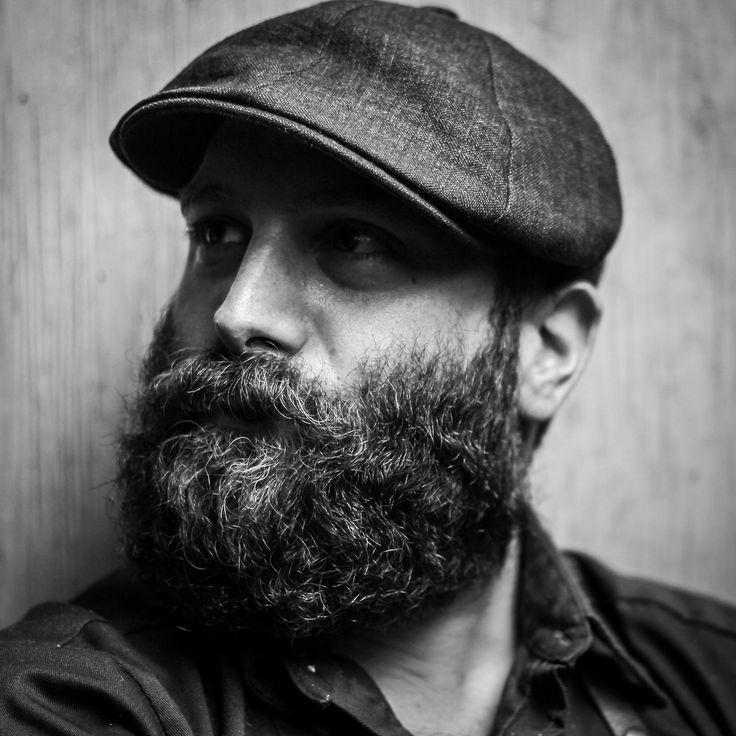 Cap & beard.