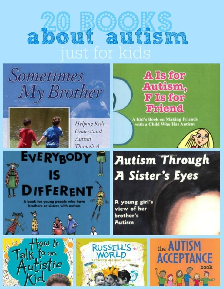 If you're trying to help other children understand autism, here are 20 books about autism written for kids.