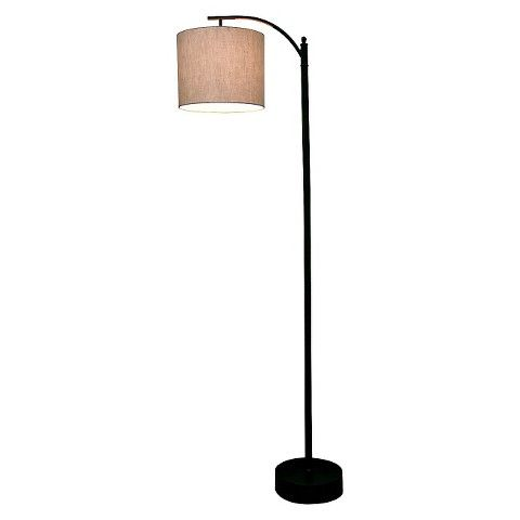 59 best images about my new apartment living space finds for Threshold floor lamp metal shade