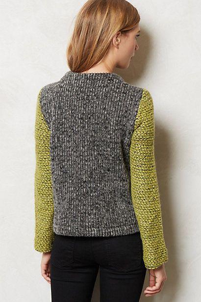 Moto Sweater - Back