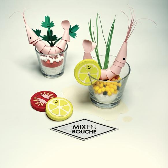 Mix en bouche - Verrine by bureaudetabas, via Flickr