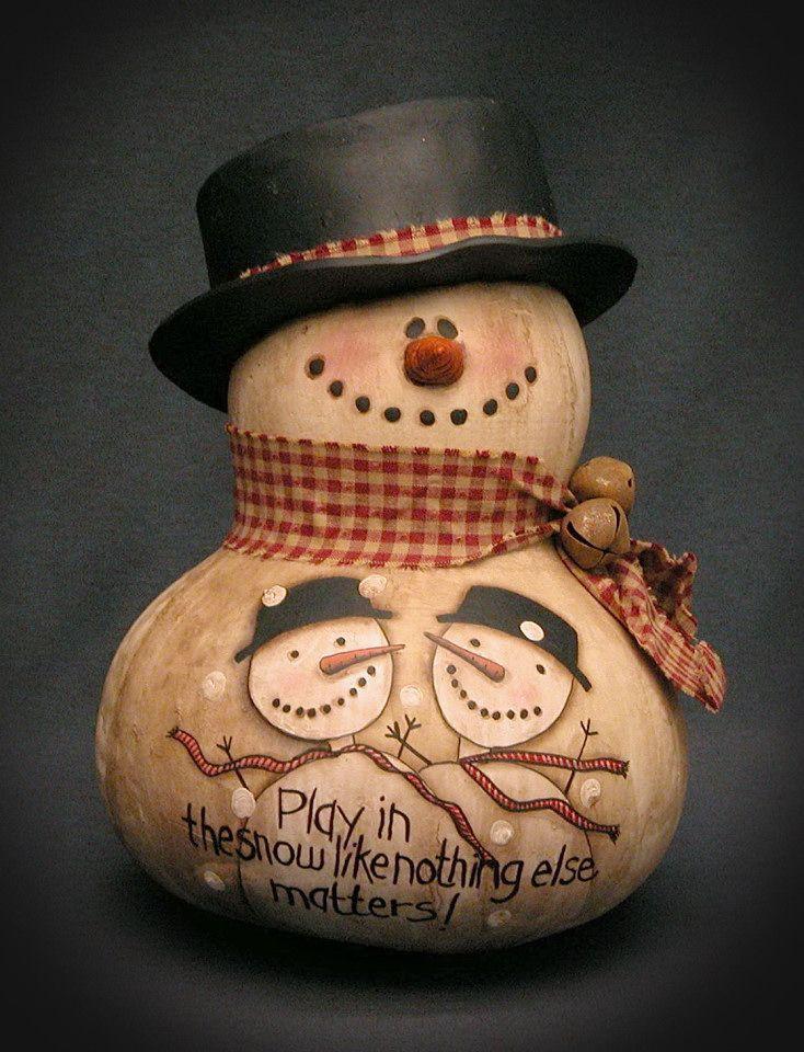 Snowman Galéria - Bev kézzel készített tökfélék