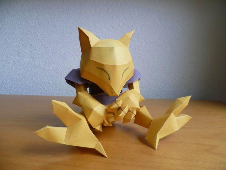 """Nombre: Abra  Tipo: Psíquico  Especie: Pokémon Psi  Altura: 0,9 m (2'11 """")  Peso: 19,5 kg (43,0 libras).  Datos de Interés: Posee la capac..."""