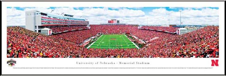 University of Nebraska Cornhuskers Football - Memorial ...