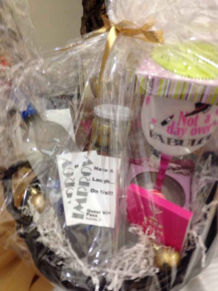 Girls Night Out Basket Mops Christmas Raffle Amp Tea