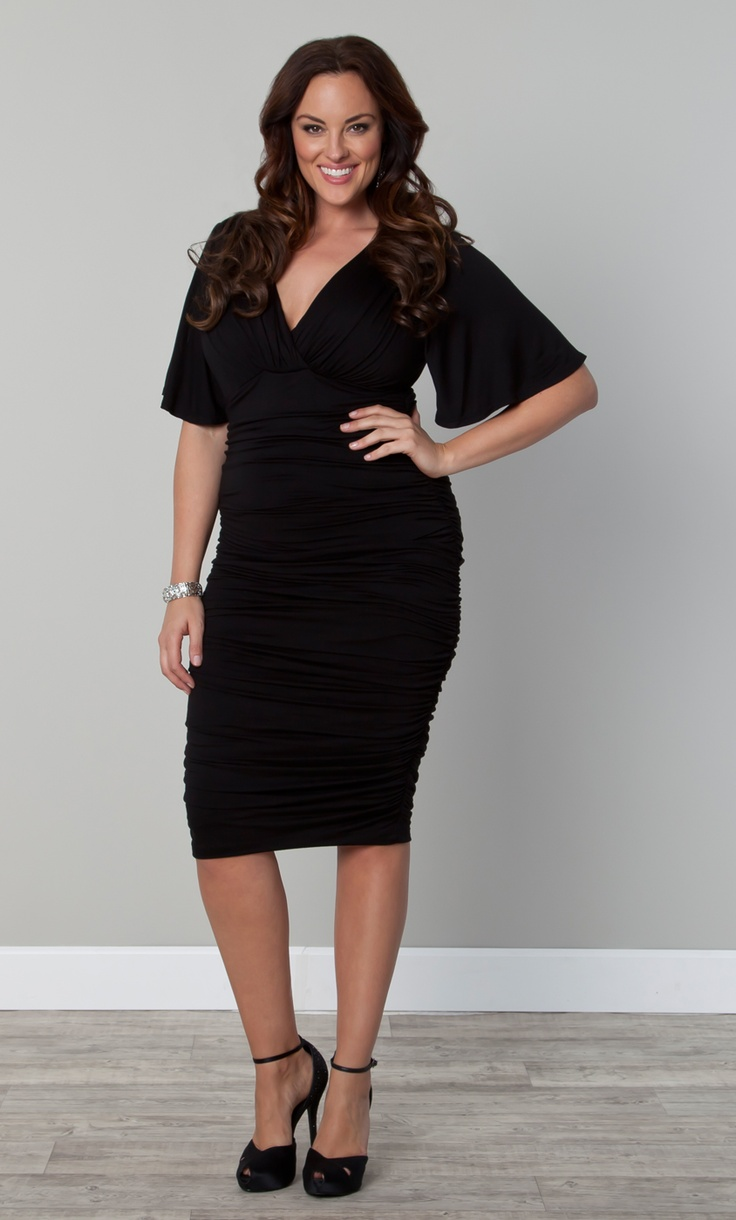 The perfect little black dress... The Plus Size Rumor
