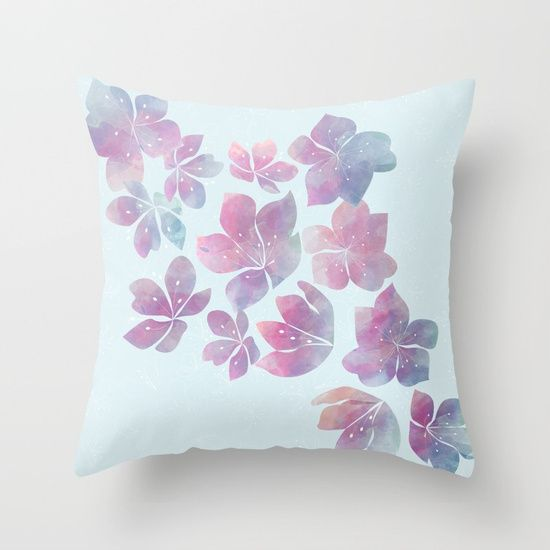 Flying fantasy Throw Pillow
