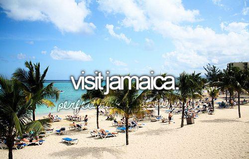 Visit Jamaica. / Bucket List Ideas / Before I Die