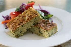 My Melbourne Thermomix: Zucchini Slice with Feta and Herbs