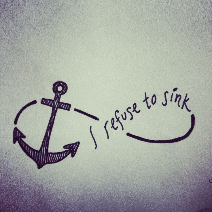 i refuse to sink tattoo on wrist - photo #28