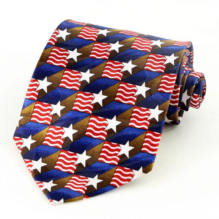 51 best Patriotic Ties images on Pinterest   Neck ties ...