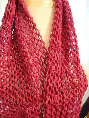 Nó de amante em uma contagem desigual tricotar 1 yo tricotar 2 juntos yo k2tog que ...