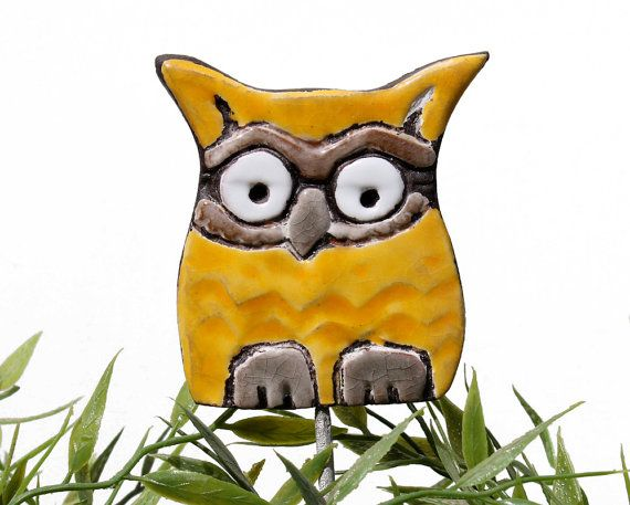 Owl Garden Decor