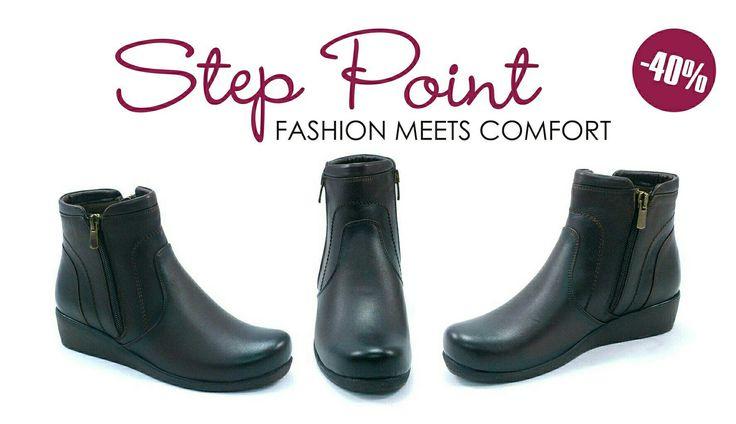 Γυναικείο μποτάκι -40% super sale!! <3 #steppoint #sales #autumn  http://ow.ly/ttnc304GfqD