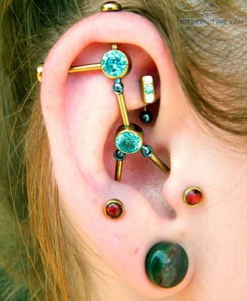 Fourchette piercing