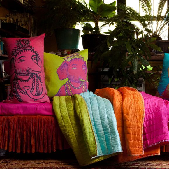 Comfy: Indian summer cushions