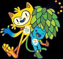 Rio Olympic mascot.