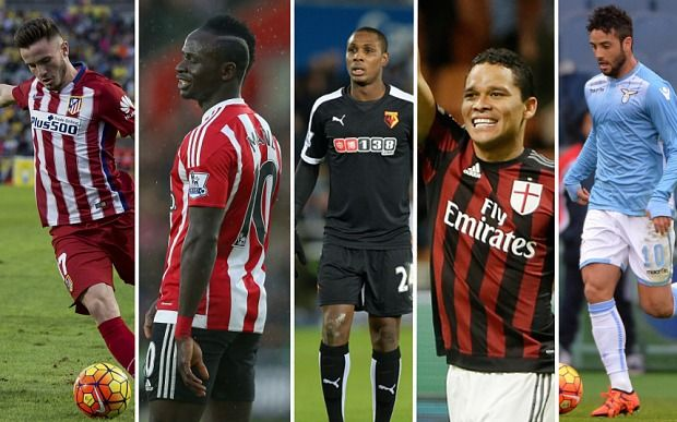 Five players Manchester United are watching this transfer window