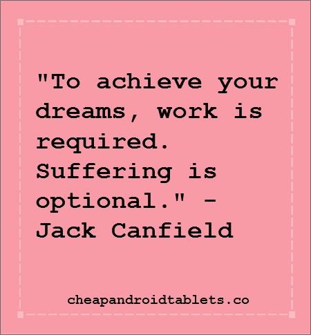 Achieving dreams