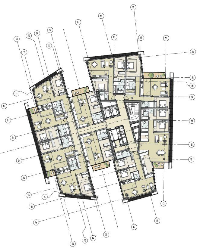 Floorplan. (Courtesy Renzo Piano Building Workshop)