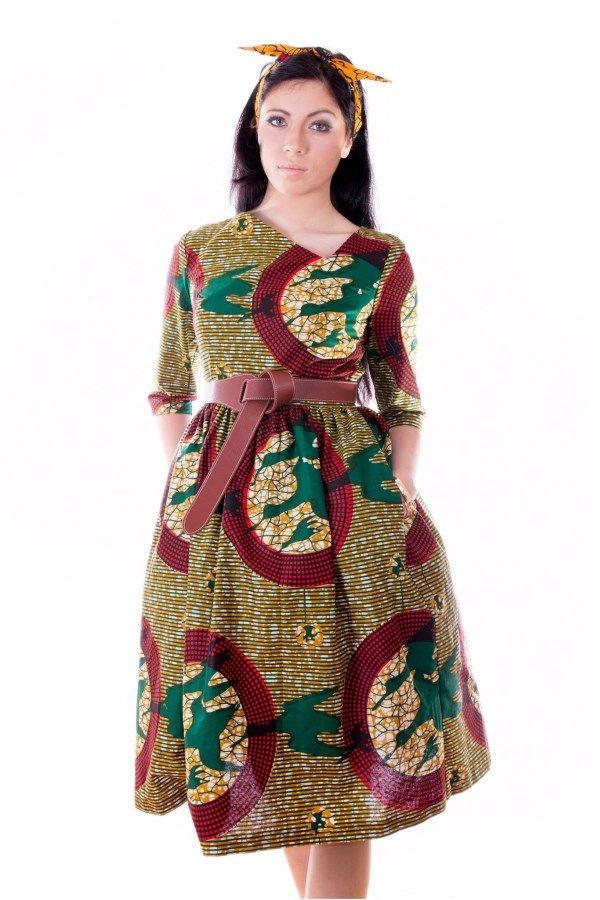Vestido Capulana