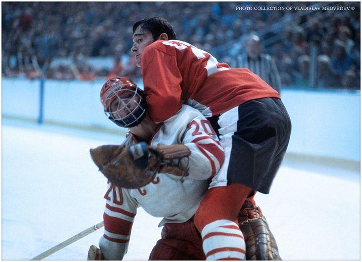 USSR - Canada 4:4 Canada, Winnipeg, September 6, 1972 #hockey #ussr #canada