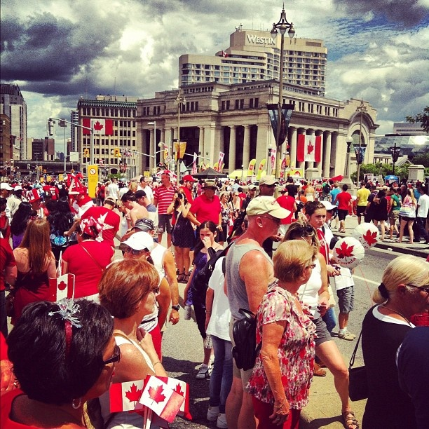 Canada Day, every July 1, in downtown Ottawa. For more information on Ottawa visit www.ottawatourism.ca