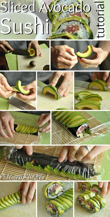 I need to learn how to make my own sushi!