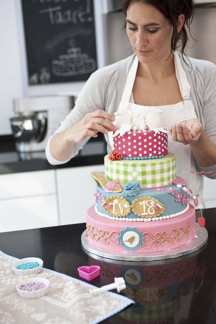 Zelf taarten bakken!