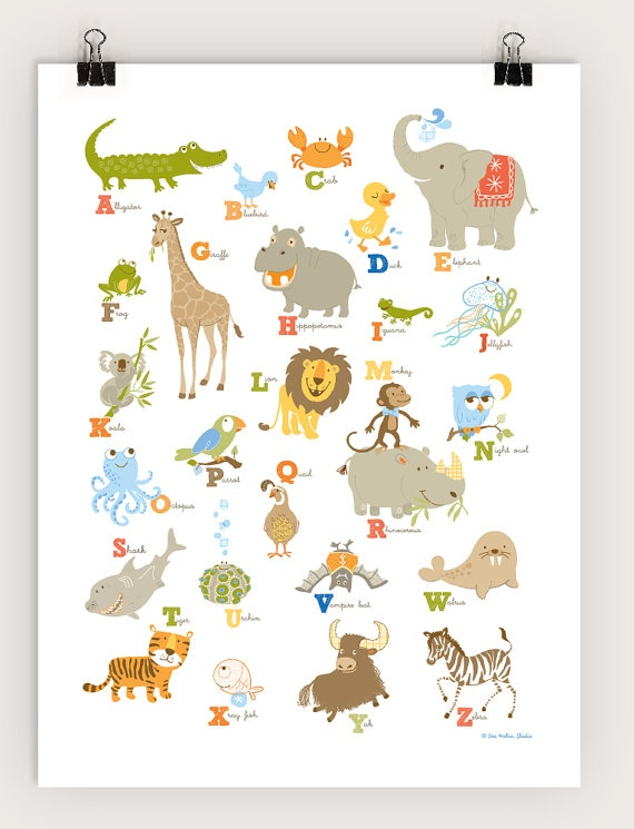 41 Best Images About Children S Alphabet Posters On
