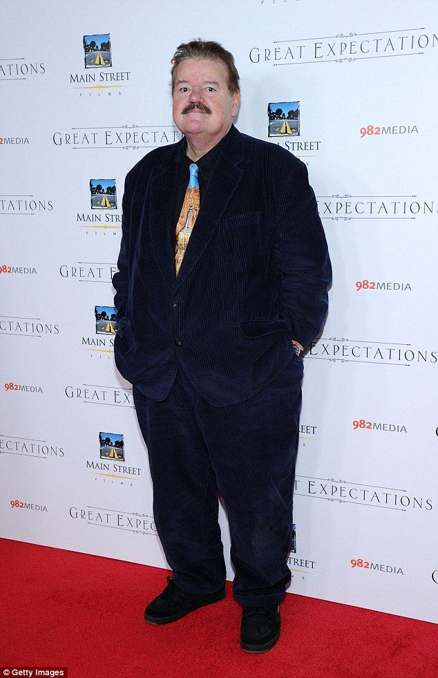 Harry Potter actor Robbie Coltrane has been hospitalized after falling ill during a flight from London to Orlando, Florida on Thursday, pictured in NYC in November, with flu like symptoms. January 29, 2015