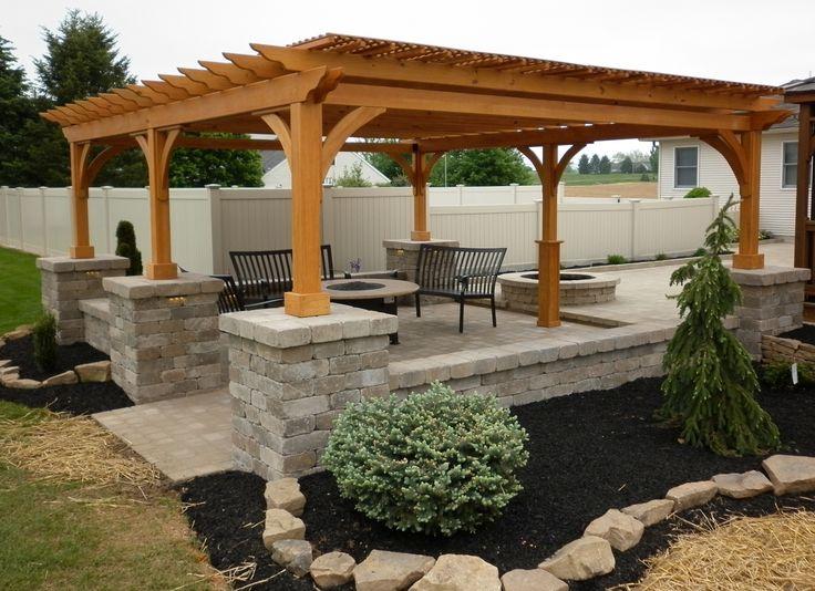 Pergolas and Pavilions | The Barn Raiser | Quality Amish-Built ...