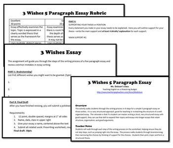 a 3 paragraph essay