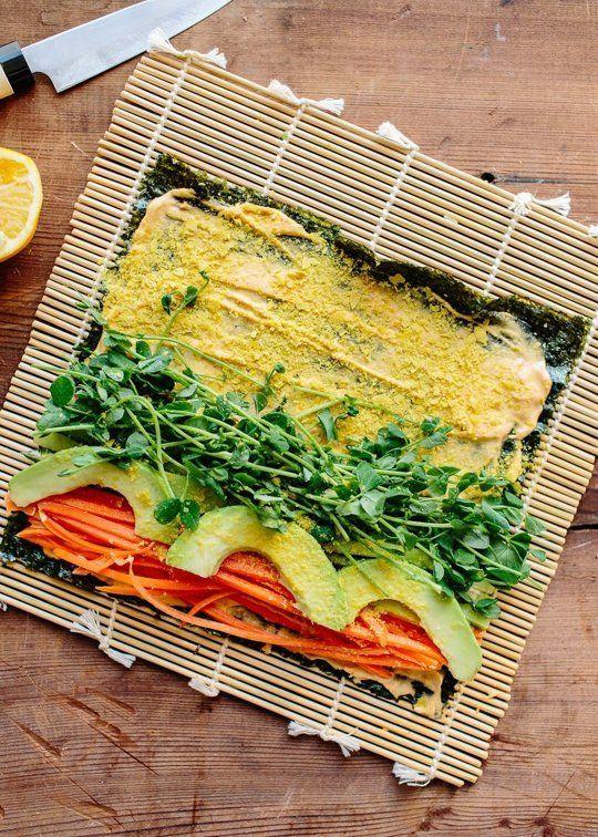 Recipe: Veggie Nori Rolls