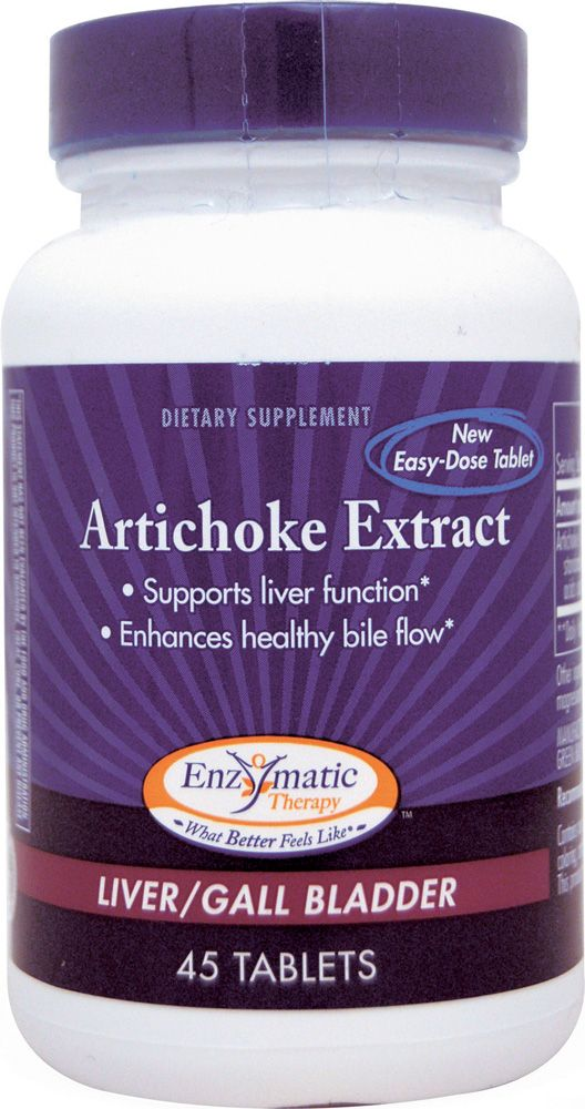 Enzymatic Therapy Artichoke Leaf Extract
