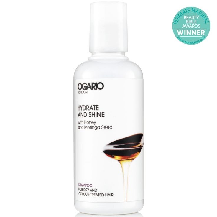 Hydrate and Shine Shampoo 100ml. Quench the thirst with our award-winning, gently cleansing shampoo, developed to soften, protect colour and put moisture back into dry hair. Now in handy travel size. For dry and colour treated hair.