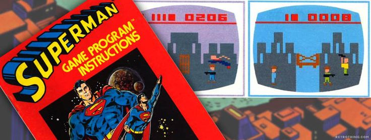 Superman is an action adventure game for the Atari 2600 designed by John Dunn and published by Atari, Inc. in 1978. #superman #atari2600 #dccomics