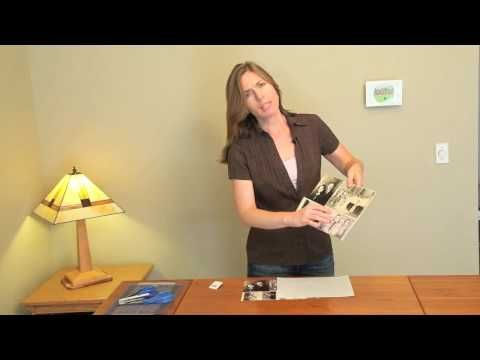 """Often referred to as """"shrinky dinks,"""" shrink plastic artwork is easy to create using your own images. In this video tutorial, Stephanie Scheetz shows you how to print your pictures on the special plastic surface, then place the media in an oven for magical transformation into beautiful jewelry. You even get to peer inside the oven as the transfo..."""