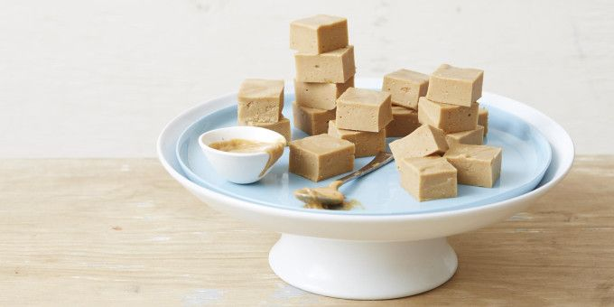 """We supercharged one of the most popular recipes on I Quit Sugar website - the Salted Peanut Butter Fudge with our Gut-Lovin' Gelatin Powder. Our head of marketing, Jorge, loves this recipe and says: """"I like protein, it's that simple. Throw together our Gut Lovin' Gelatin (88 per cent protein, by the way) with my peanut butter obsession and the result is an energy packed, super delicious (all day, everyday!) snack that packs a supercharged protein punch."""" – I Quit Sugar"""