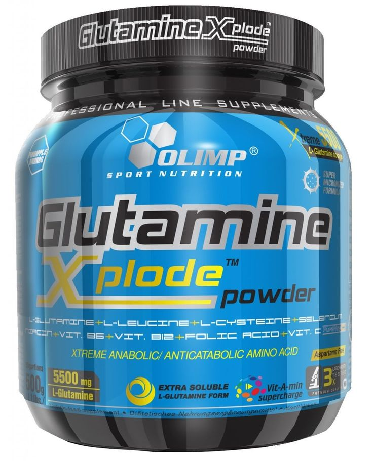 A GLUTAMINE XPLODE az izomépítés és sportteljesítmény fokozása szempontjából kritikus L-glutamin és L-leucin optimális dózisával és arányával, L-cisztein, szelén és C-vitamin hozzáadásával egy olyan innovatív szuper fejlett formulát képez (PureWay-C(R)), amely biztosítja a magas szintű glutation szintézist, valamint a B6, B12- vitaminok a folsav és a niacin komplex segítségével gyorsítja az edzés utáni regenerációt és száraz izomtömegnövekedés.