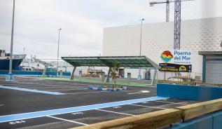 El aparcamiento público del futuro Acuario de Las Palmas de Gran Canaria estará operativo para la inauguración de la instalación, prevista para el verano