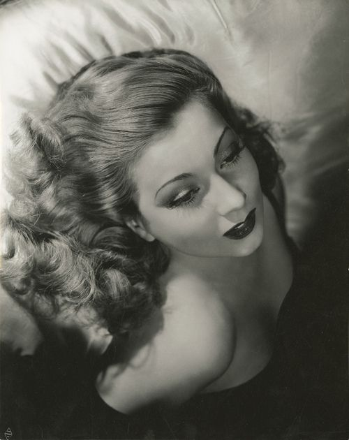 Portrait of Ann Sothern by George Hurrell, 1930s