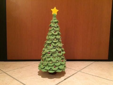 Albero di Natale all'Uncinetto (tutorial) - YouTube