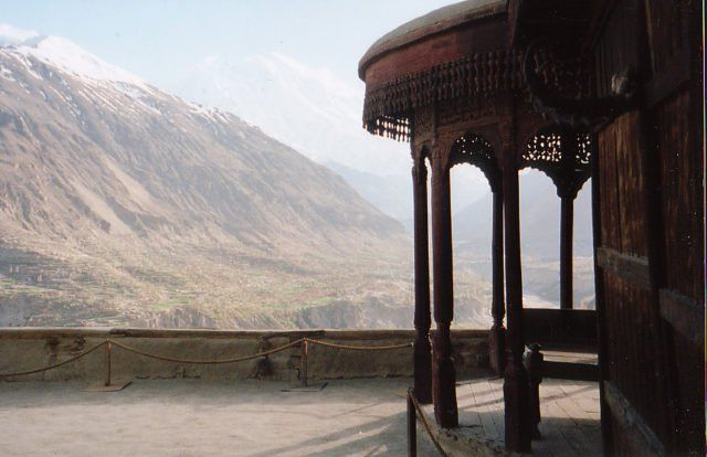 For centuries, the ancient Baltit Fort served as residence of the Mirs of Hunza