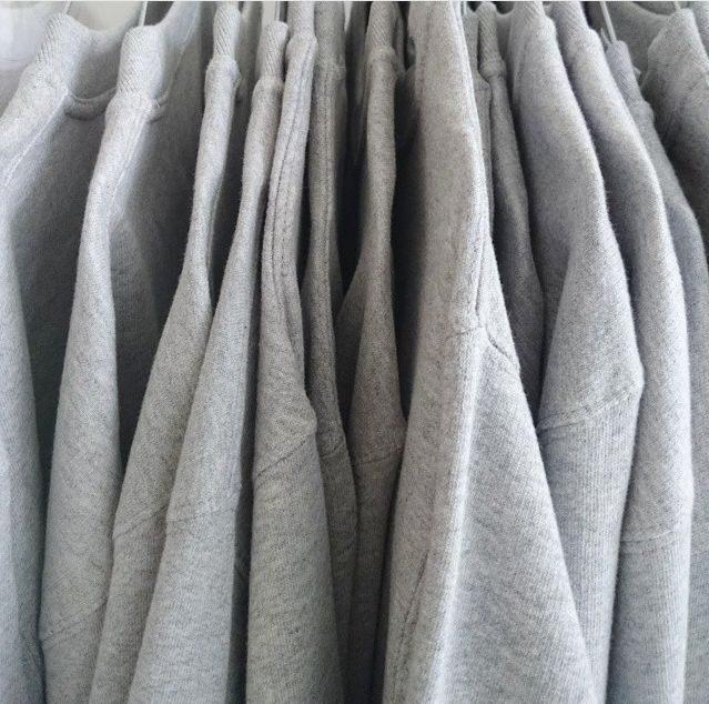 Just Fashion popup with grey grey grey great ethical jumpers at Mesh