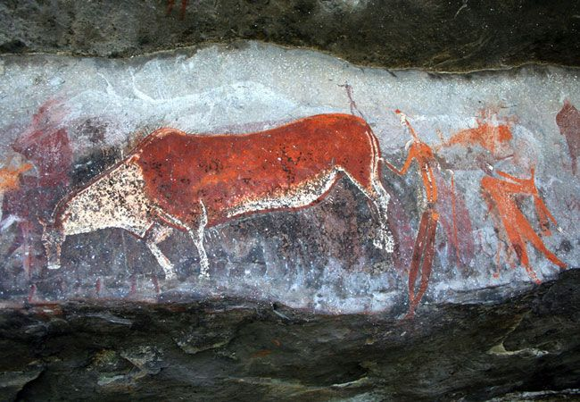 Kamberg is known for its excellent fly fishing and recently a Bushman Rock Art Site has been opened to the public.  Amazingly clear rock art is within short hiking distance. See more: www.midlandsmeander.co.za