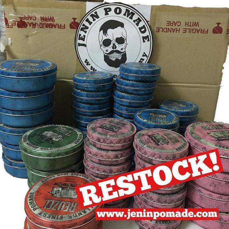 POMADE NOW AVAILABLE RESTOCK !!! Reuzel pomade restock! Reuzel Blue 12oz (RM55) Reuzel Pink 12oz (RM55) Reuzel Red 12oz (RM55) Reuzel Green 12oz (RM55) Reuzel Blue 4oz (RM55) Reuzel Pink 4oz (RM55) Reuzel Red 4oz (Sold Out) Reuzel Green 4oz (Sold Out) Poslaju RM5 WM RM10 EM (Purchase RM150 or above free postage) 100% original Buy online at http://ift.tt/1WGH5K1 #americanpomade #pomademurah #pomade #reuzelblue #reuzelmalaysia #pomademalaysia #pomadeusa #jangankecam #tiada #babi #mensgrooming…